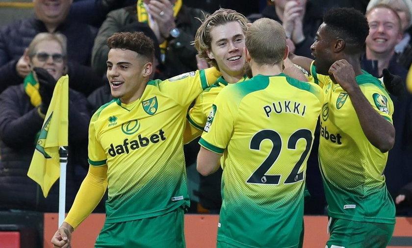 Radość piłkarzy Norwich City