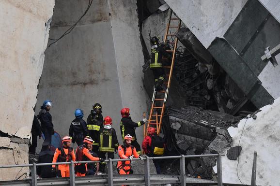 Italija u crnom: Najmanje 35 žrtava, potraga za preživelima u toku