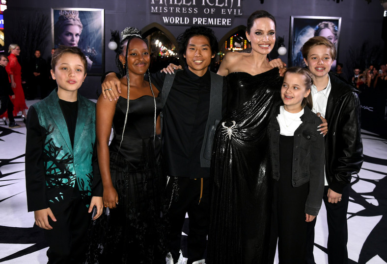 Angelina Jolie wants to be completely cared for children