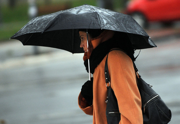 Beograđane danas očekuje kiša
