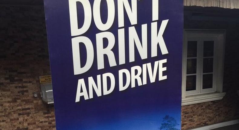 #DontDrinkAndDrive campaign