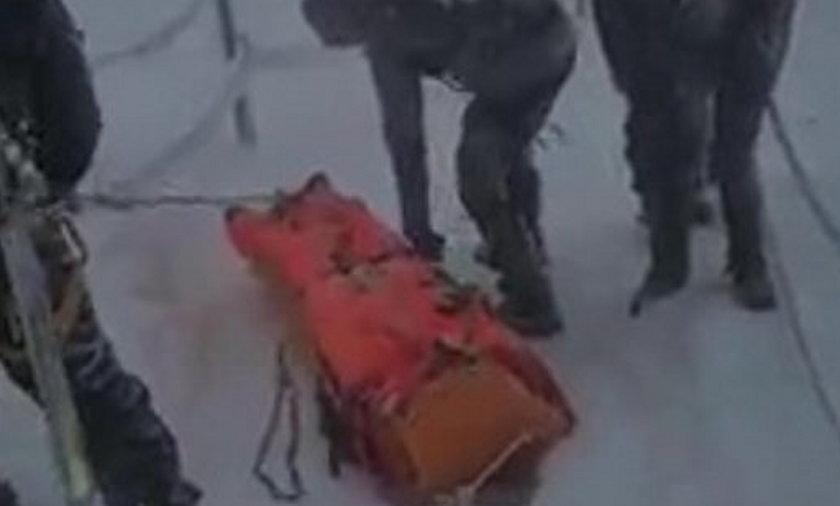 Akcja ratunkowa GOPR w Karkonoszach. Górskie morsowanie nie dla każdego