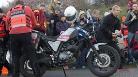 Motoambulans Yamaha XT660Z Ténéré - 50 000 km na liczniku