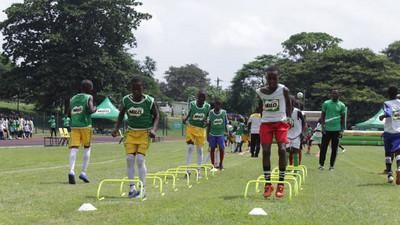 Milo U-13 Champions League: Arhinful, Paintsil lead soccer clinic as national final kicks off