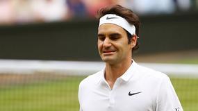 Federer gościem na meczu Ligi Mistrzów