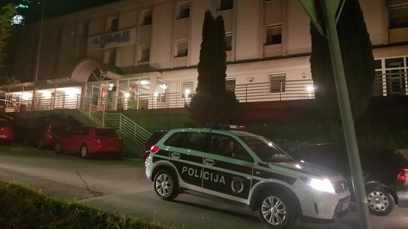 Hostel u kome je pronađena ukradena beba