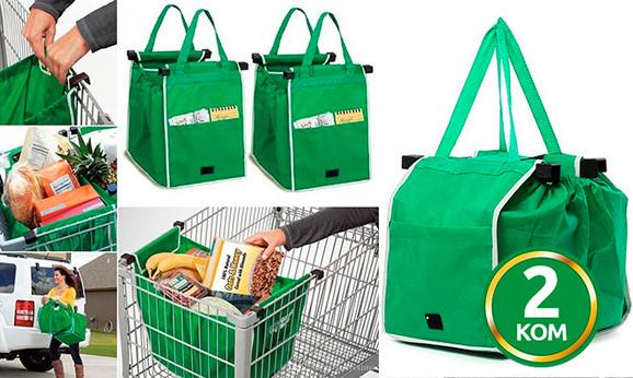 Dve torbe za kupovinu