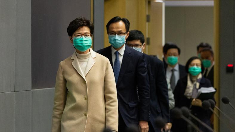 Władze Hongkongu