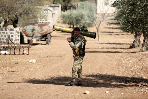 Sirija vojska u Afrinu