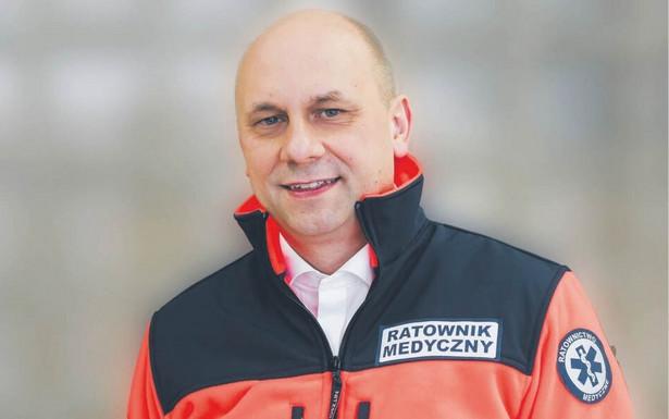dr n. o zdr. Jarosław Madowicz, prezes Polskiego Towarzystwa Ratowników Medycznych