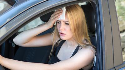 Piętnaście sposobów na upał w samochodzie bez klimatyzacji