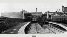 Z tej brytyjskiej stacji pociągi odjeżdżały wyłącznie na cmentarz