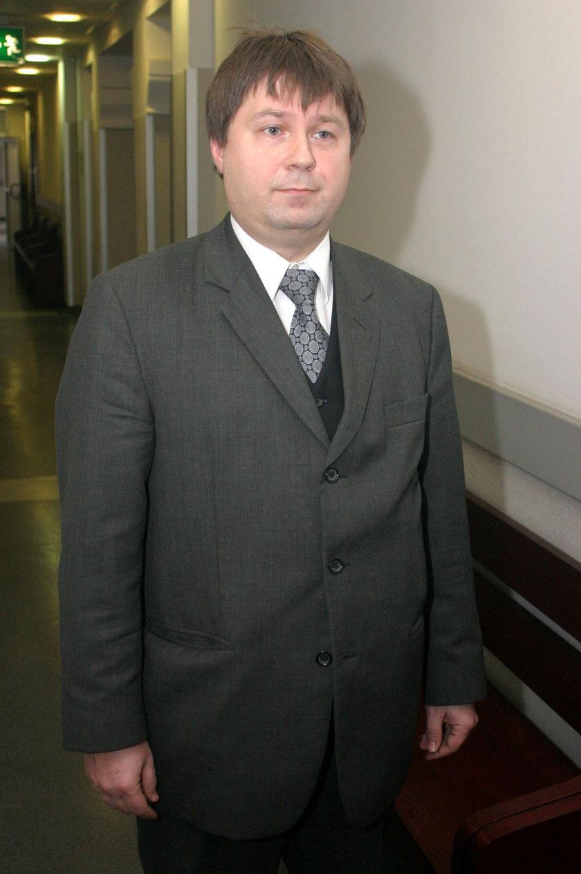 Sędzia Tomasz Pawlik z Sądu Okręgowego w Gliwicach