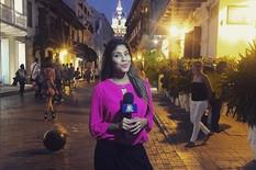 SKANDAL NA SVETSKOM PRVENSTVU Manijak napao seksi kolumbijsku novinarku, uhvatio je za grudi usred prenosa! /VIDEO/