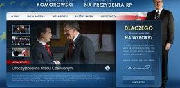 Kolejna wpadka sztabu Komorowskiego!