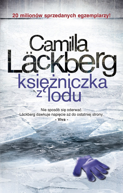 """Ice princess"", book cover"