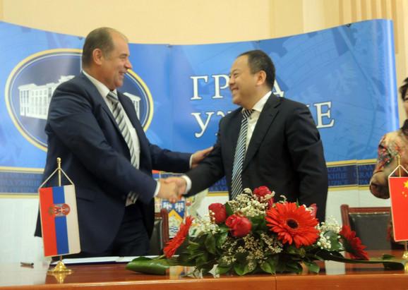Otovrena vrata saradnji: Ugovor o bratimljenju potpisali gradonačelnici Tihomir Petković i Sun Dž