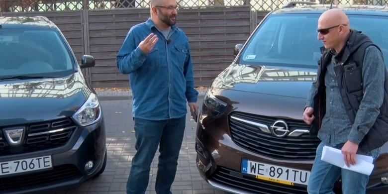 Auta bez ściemy - Opel Combo Life kontra Dacia Lodgy