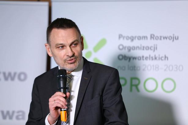 Wojciech Kaczmarczyk, dyrektor Narodowego Instytutu Wolności – Centrum Rozwoju Społeczeństwa Obywatelskiego