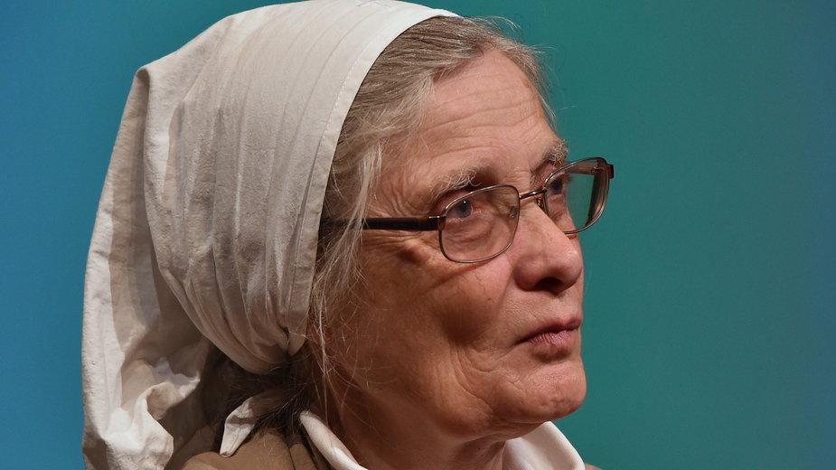 Małgorzata Chmielewska, przełożona Wspólnoty Chleb Życia.