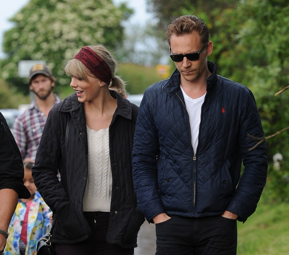 Taylor Swift i Tom Hiddlestone (obecnie)