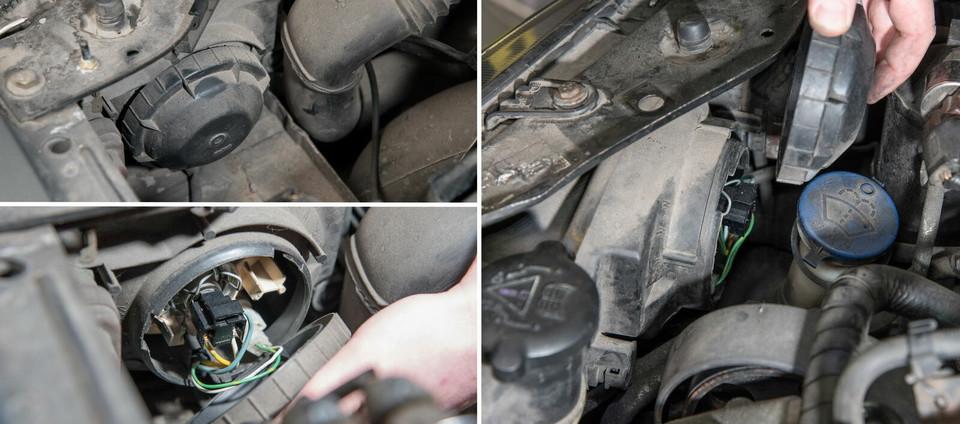 Обслуживаем Peugeot 306 1.9 TD: лампы накаливания