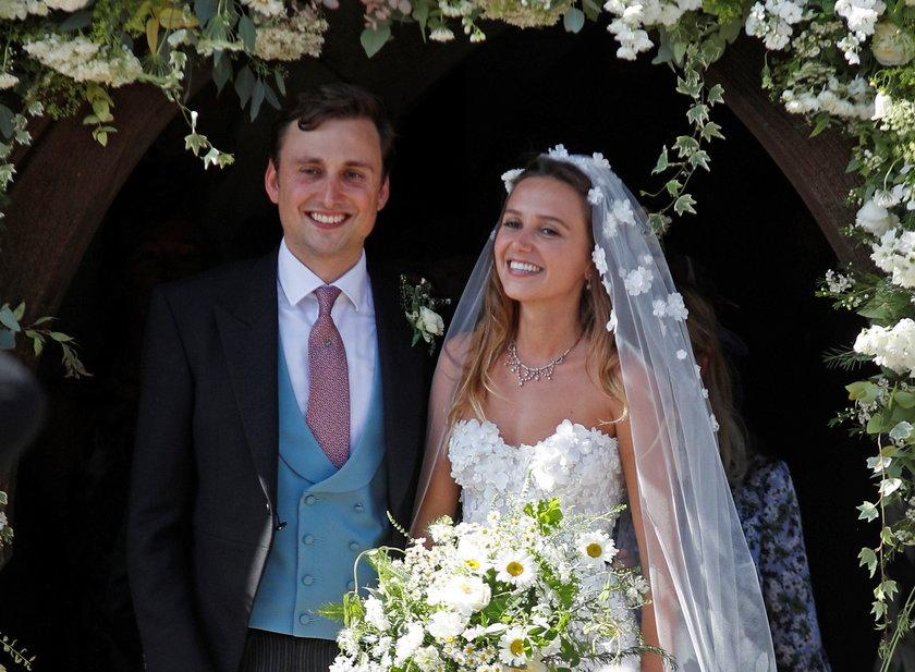 Ślub Daisy Jenks i Charlie Van Straubenzee