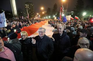 'Dziś sędziowie - jutro Ty': Protesty pod sądami w całej Polsce