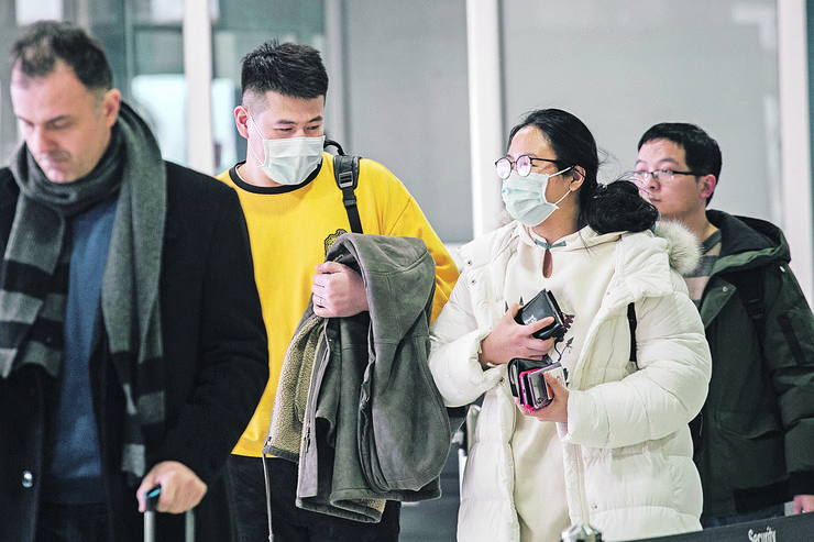 """Koronavirus, aerodrom """"Nikola Tesla"""", Kinezi, Kina, zaštita"""