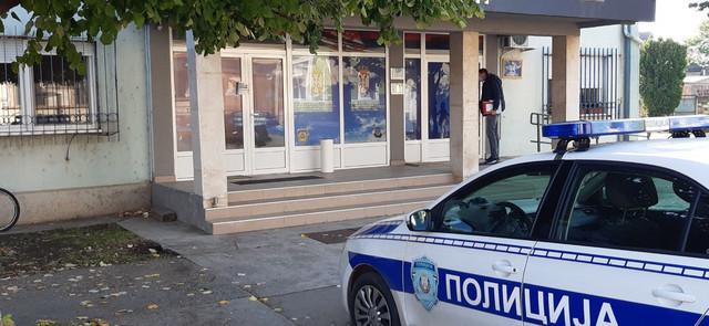 Policijska stanica Srbobran bačena bomba