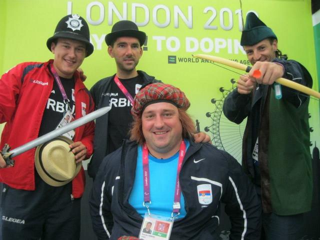 Srpski paraolimpijci u Londonu - foto: Svetska antidoping agencija
