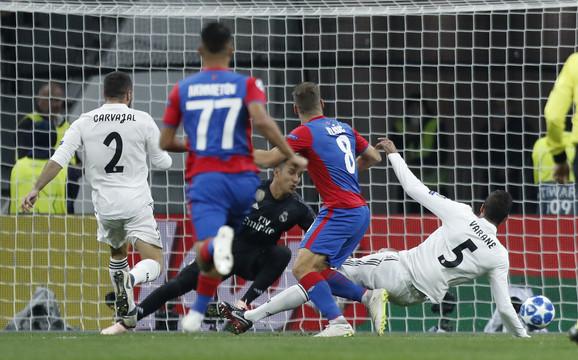 Detalj koji je odlučio pobednika u meču CSKA - Real Madrid