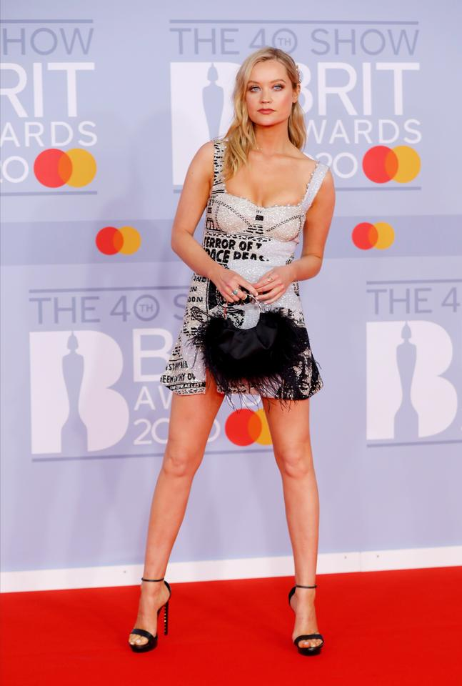 Brit Awards 2020: Laura Whitmore