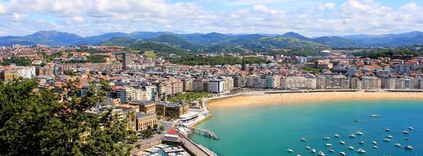 3. miejsce – La Concha Beach w miejscowości Donostia-San Sebastian.