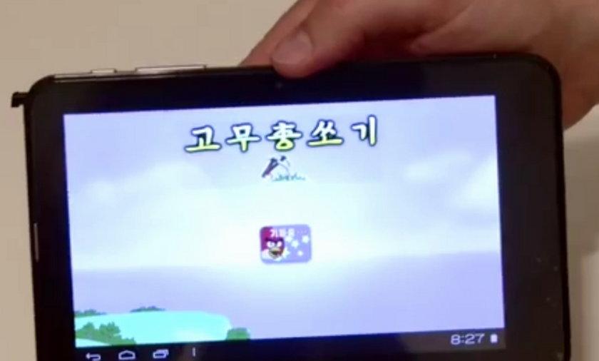 tablet korea północna