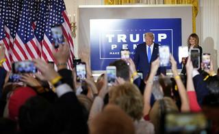 Trump: wczoraj prowadziłem w wielu kluczowych stanach, ale przewagi zaczęły 'magicznie znikać'