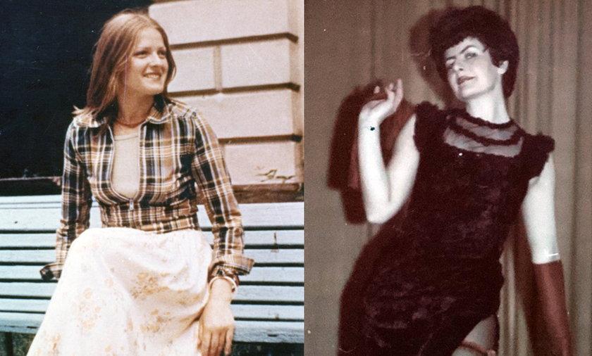 Krystyna Pawłowicz i Joanna Senyszyn na zdjęciach sprzed lat