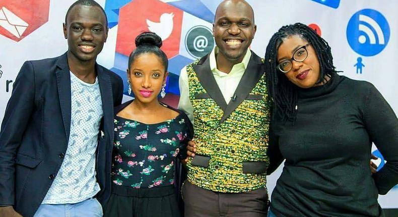 Eddy Butita, Anita Nderu, Larry Madowo and Ciru Muriuki