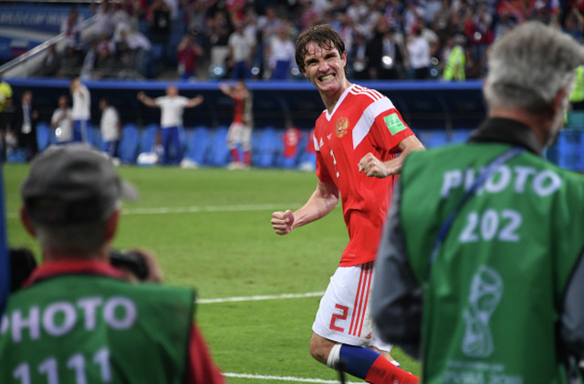 Mario Fernandez slavi gol za 2:2, pet minuta pre kraja produžetaka