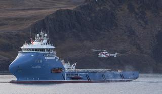 Rosyjski śmigłowiec runął do morza koło Spitsbergenu