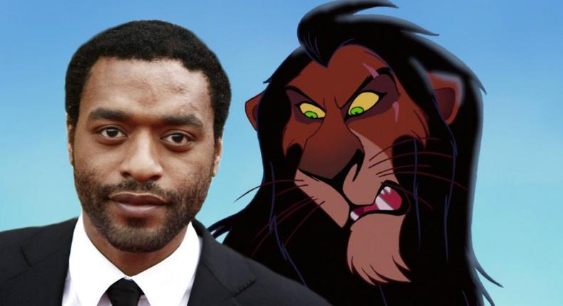 Chinwetel Ejiofor is having discussions concerning voicing the character of Scar in the Lion King animation movie.