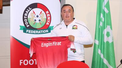 Engin Firat appointed as Harambee Stars coach