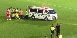 Piłkarz umierał na boisku! Medycy siedzieli na trybunach, zamiast go ratować