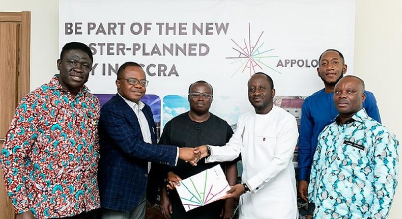 Pharmaceutical Importers and Wholesalers Association at MoU signing with Apollonia City