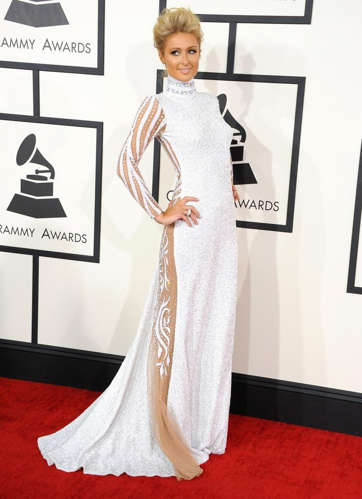 Paris Hilton - Grammy Awards