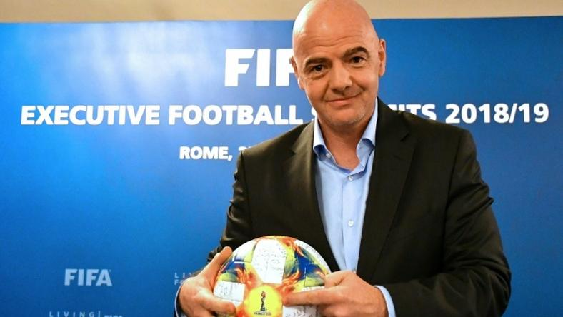 FIFA president Gianni Infantino hopes to win support for a 48-team 2022 World Cup at a meeting in Miami