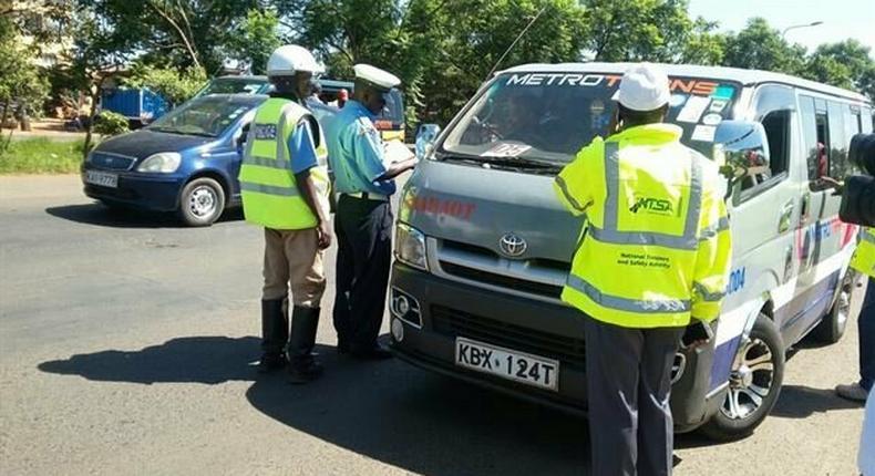 Police & NTSA take over matatu safety to prevent spread of Covid-19