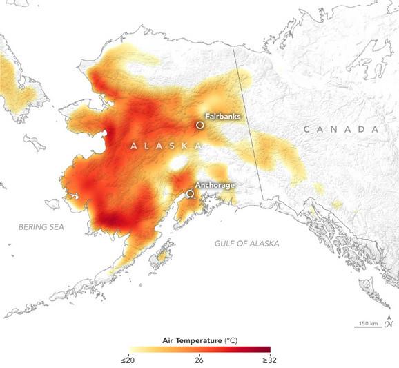 Aljaska vrućine