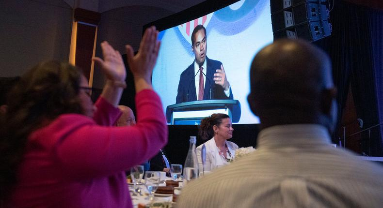 At Latino forum, Democratic candidates channel anxiety over immigration