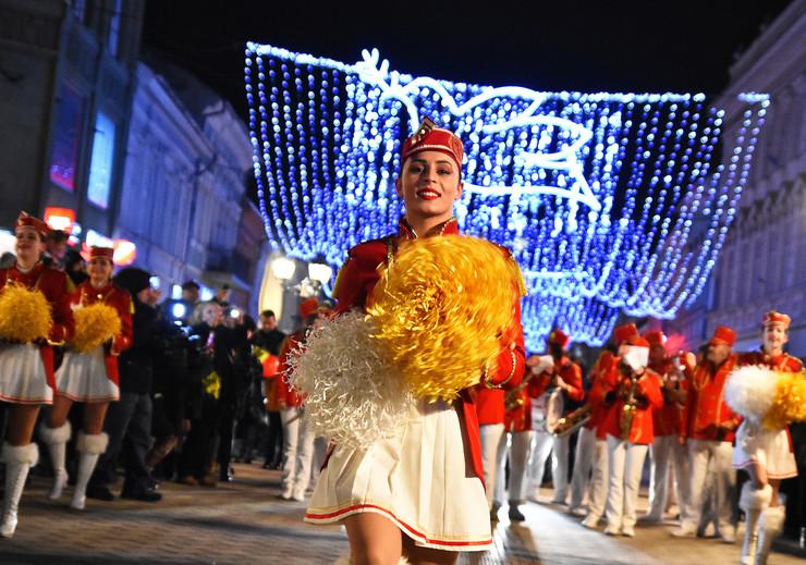Novi Sad126 mazoretkinje promocija dana mimoze u Herceg Novom foto Nenad Mihajlovic